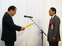平成21年度子育て応援宣言企業・事業所知事表彰 写真01